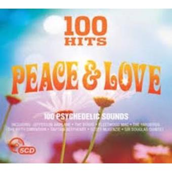 100 HITS PEACE AND LOVE/5CD