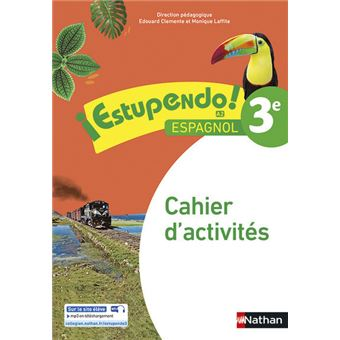 Estupendo espagnol 3e cahier d'activites