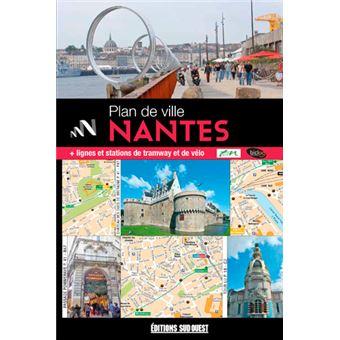 Nantes plan de ville