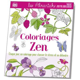 Calendrier Activites 2015 Coloriages Zen Broche Maud Taron Achat Livre Fnac
