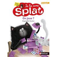 On joue ? Je lis avec Splat - niveau 1