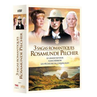 Coffret 3 Sagas romantiques Rosamunde Pilcher DVD