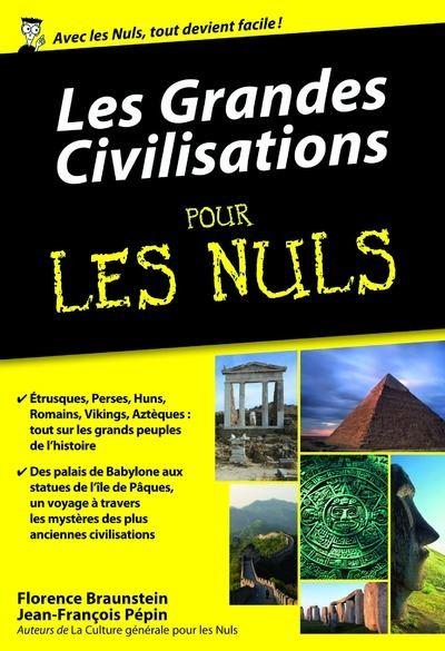 Les grandes civilisations Poche Pour les Nuls