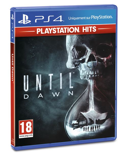 Until Dawn PS4 Hits