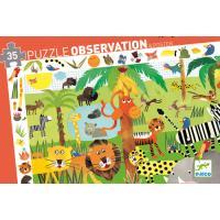 Djeco Puzzle Jungle 35 pcs