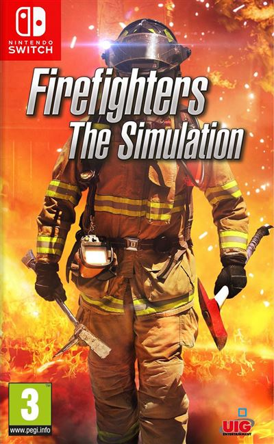 Firefighters the Simulation Nintendo Switch