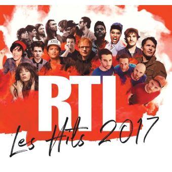 Les Hits RTL 2017 Coffret Digipack