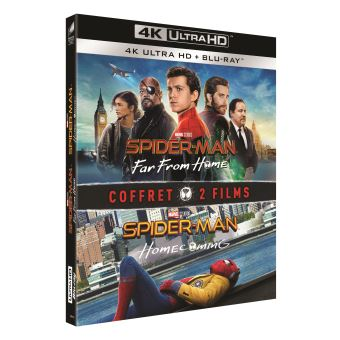 Spider-ManCoffret Spider-Man : Far From Home et Spider-Man : Homecoming Blu-ray 4K Ultra HD