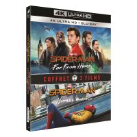 Coffret Spider-Man : Far From Home et Spider-Man : Homecoming Blu-ray 4K Ultra HD