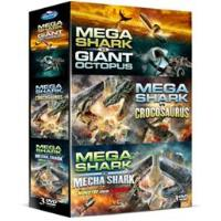 Coffret Mega Shark 3 films DVD