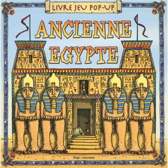 Livre Jeu Pop Up Ancienne Egypte