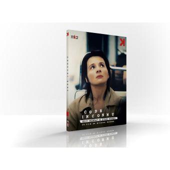 Code inconnu DVD