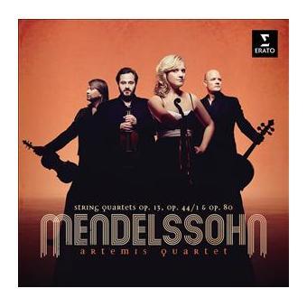 Mendelssohn: String Quartets Nos 2, 3 & 6 - 2CD