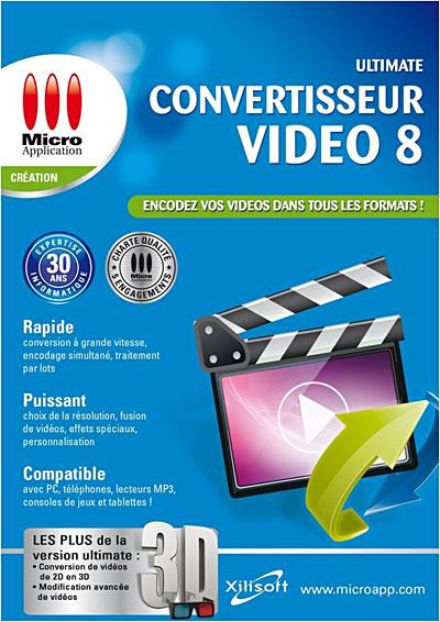 Convertisseur Video Ultimate 8 PC