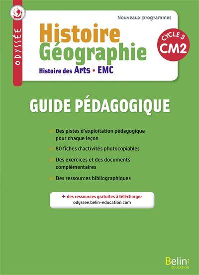 Odyssée, Histoire Géographie, Histoire des arts, EMC, CM2 Cycle 3