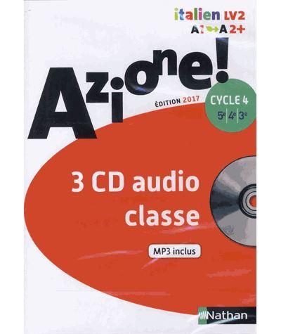 Azione ! cycle 4 - CD audio classe 2017