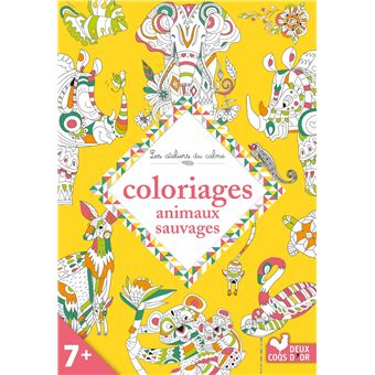 Coloriages animaux sauvages broch cinzia sileo - Coloriages animaux sauvages ...