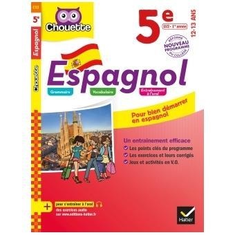 Espagnol Lv2 5eme Cycle 4 Niveau A1 A2 Workbook