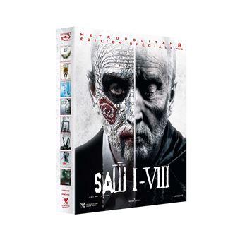 SawSaw L'intégrale des 8 films Coffret Blu-ray