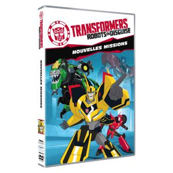 transformers robots in disguise nouvelles missions dvd dvd zone 2 achat prix fnac. Black Bedroom Furniture Sets. Home Design Ideas
