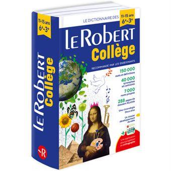 Le Robert College 6eme 3eme