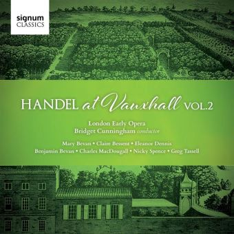 HANDEL AT VAUXHALL, VOL.2