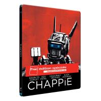 Chappie Steelbook Combo Blu-ray + DVD