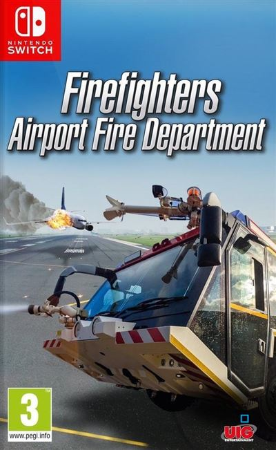 Firefighters Airport Fire Department Nintendo Switch