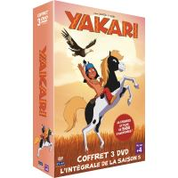Coffret Yakari Saison 5 Volumes 1, 2 et 3 DVD