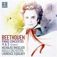 Beethoven Piano Concertos 4 & 5 - CD