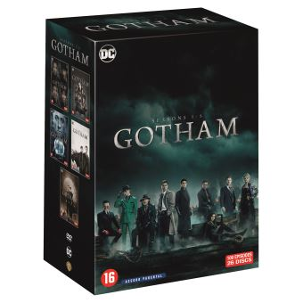 GothamCoffret Gotham Saisons 1 à 5 DVD