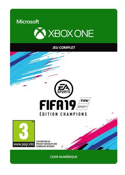 Code de téléchargement FIFA 19 Edition Champions Xbox One