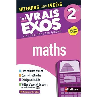 Interros Des Lycees Maths 2de Broche Collectif Achat Livre Fnac