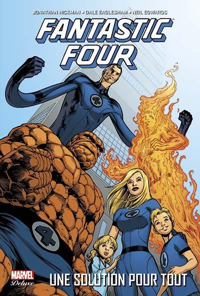 Fantastic Four - Tome 1 : Fantastic four t01 : une solution pour tout