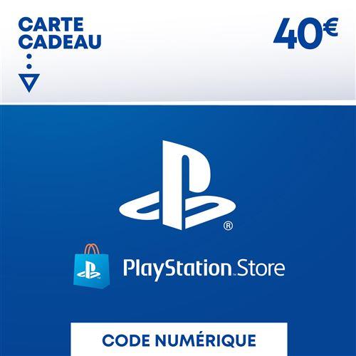 Code de téléchargement Playstation Store Fonds pour Porte-Monnaie virtuel 40