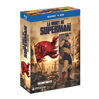 The Death of Superman Blu-ray