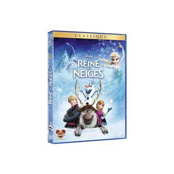 Frozen, La reine des neigeLa reine des neiges DVD