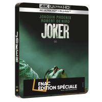 Joker Steelbook Edition Spéciale Fnac Blu-ray 4K Ultra HD
