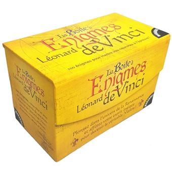 La Boite A Enigmes Leonard De Vinci