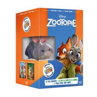 Coffret Zootopie Le livre de la jungle DVD