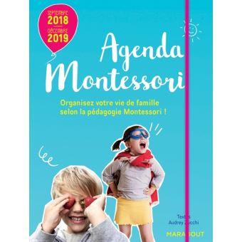 Agenda Montessori 2018 - 2019