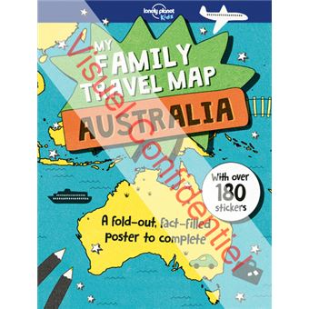 My family travel map Australia