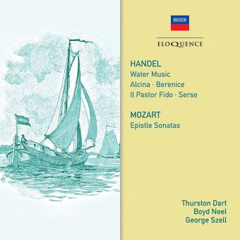 Water Music Alcina Berenice Serse Epistle Sonatas