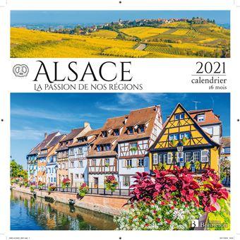Calendrier 2021 Alsace Calendrier Alsace 2021   broché   Collectif   Achat Livre | fnac