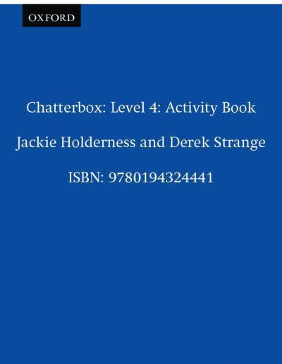 Chatterbox,4:activity book