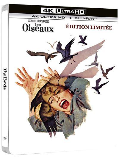 Les-Oiseaux-Steelbook-Blu-ray-4K-Ultra-H
