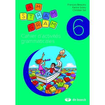 Cahier D Activites Grammaticales 6eme Annee Workbook