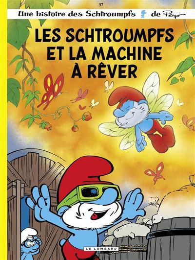 Les Schtroumpfs Lombard - Tome 37 - Les Schtroumpfs et la machine à rêver - 9782803676453 - 5,99 €