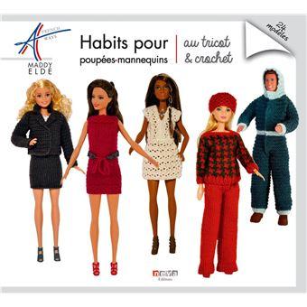 Habits Pour Poupées Mannequins Au Tricot Et Crochet