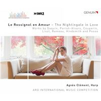 Rossignol en amour/oeuvres pour harpe